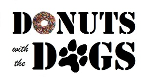 donuts with the dogs