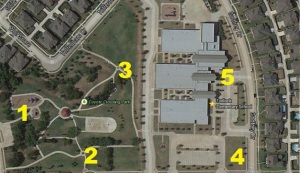Walk to School Map Revised 2
